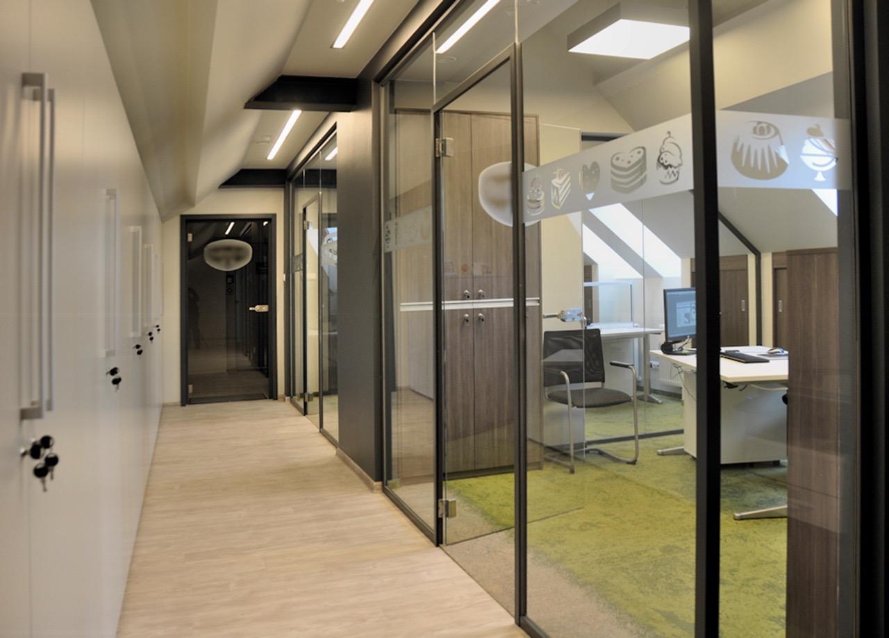 KL wnetrza - biuro na poddaszu w Gdańsku