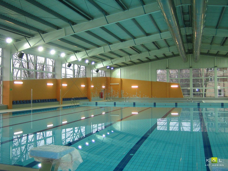 KL art design Centrum Sportu i Rekreacji Uniwersytetu Warszawskiego