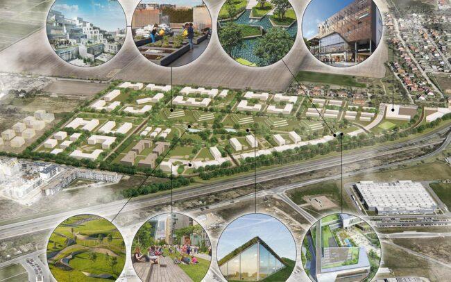 Wrocław projekt urbanistyki osiedla